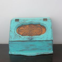 Vintage Wooden Bread Box Bread Box Recycled by oZdOinGItagaiN, $48.00