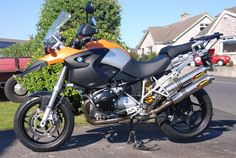 BMW R1200GS supermoto