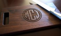 Cutting Board Personalized Cutting Board Laser Engraved 8x14 Circle Monogram…