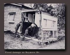 Hurricane Hazel,1954,Toronto,Ontario,Canada Hurricane Hazel, Atlantic Hurricane, Toronto Ontario Canada, West Village, Landscape Photos, United States, Black And White, Park, History