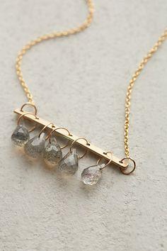 Crystal Bells Necklace #anthrofave