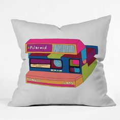 Bianca Green Captures Great Moments Polyester Throw Pillow