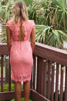 I Pink I Can Lace Dress