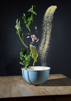 Series of Recipes Presented With Floating Ingredients - FoodiesFeed