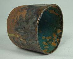 stoneware spotted cup - side -  by olialamar1, via Flickr