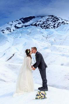 At Pearson S Pond Luxury Inn Adventure Spa In Juneau Alaska Can Choose To Say I Do On A Nearby Glacier Outdoor Wedd Weddings