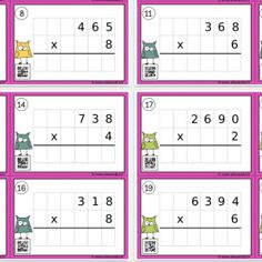 Free Games For Kids, Math Multiplication, Simple Math, Cycle 3, Montessori, Worksheets, School, Blog, Math Lessons