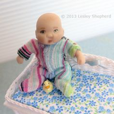 Sew a Custom Fitted Sleeper For Any Size of Baby Doll - this one is 1-12