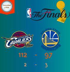 Ayer en la #NBAFinals los @cavs se imponen a los @warriors y dejan la serie 2-3 y nos vamos al 6o juego