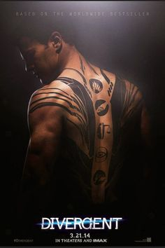 They did a good job on the his tattoos.  They look like how I thought they did in the book.