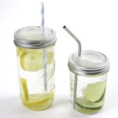 CUPPOW began as our solution for easier drinking from a canning jar. The canning jar already makes an awesome platform for a travel mug: it's easy to clean, made of heat-resistant glass, cheap, durable, and when sealed it doesn't leak. The only problem is...