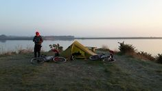 Bivvy a Month-January A trip report about a night out on a Hampshire salt marsh