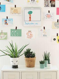 Urban Jungle Bloggers: Plants & Art by @23qmStil