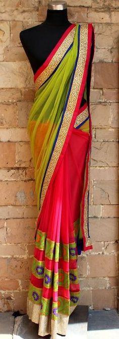 It's PG'LICIOUS #saree #IndianFashion