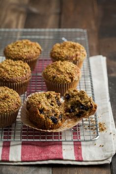 Pistachio Chocolate Chip Muffins. Yum!  These offer a nice twist with pistachios & sound fabulous.