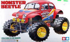 Tamiya Monster Beetle (want it) Scrambler Custom, Rc Cars And Trucks, Monster Trucks, Rc Hobbies, Rc Model, Rally Car, Plastic Models, Toys For Boys, Strollers