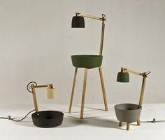 Tafelstukken by Daphna + Laurens... buckets to hold your junk.