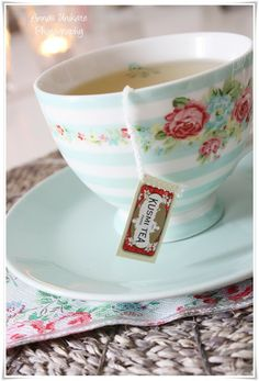 I have this beautiful Greengate teacup!!!