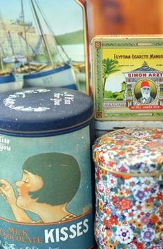 vintage tins by vivian