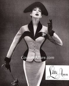 Couture Allure Vintage Fashion: Lilli Ann