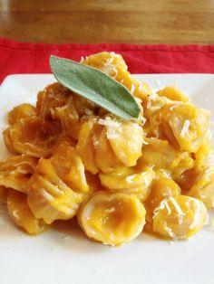 Butternut Squash Pasta LOVE!!!