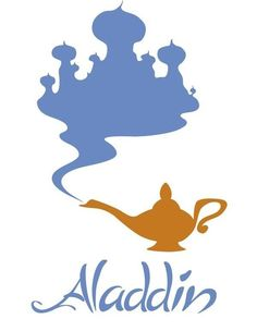 40 Best Aladdin Silhoutte Tattoos Images Aladdin Disney