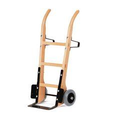 GTARDO.DE:  Holzsackkarre, Tragkraft 250 kg, Luft, Maße 620x540 mm, Schaufel 370x140 mm 204,00 €