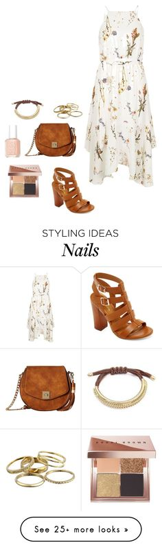 """Summer vibes #2"" by kasia206648 on Polyvore featuring River Island, Bamboo, Gabriella Rocha, Kendra Scott, Bobbi Brown Cosmetics and Essie"