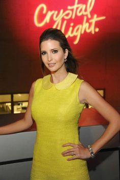 InStyle.com, January 2012. Oval shape earrings: Ivanka ...