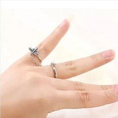 Item: fashion ring with very good quality material: metal silver Style: Fashion, Vintage Style Could be adorned in many occasions. Fashion Rings, Best Gifts, Vintage Fashion, Chain, Metal, Silver, Jewelry, Style, Swag