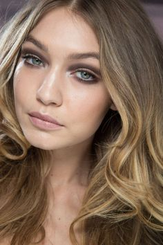 We are loving this smokey eye on Gigi.