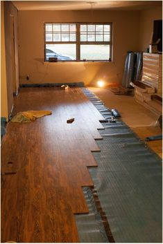 Laminate to carpet transition options - DoItYourself.com Community ...
