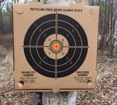 Alaska pizza place has boxes that double as targets for shooting : mildlyinteresting Eagle River Alaska, Engagement Ring For Him, Alaska Fashion, Pizzeria, Pizza Boxes, Shooting Targets, Pizza Delivery, Things To Come, Good Things