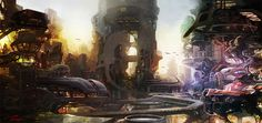 Concept spaceship environments by Tae won jun #2