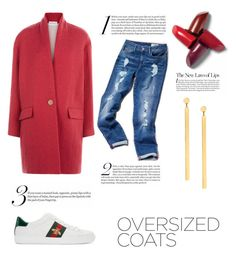 """oversized coats"" by enstilsonmoda on Polyvore featuring moda, Étoile Isabel Marant, Tommy Hilfiger, Gucci ve Lana"