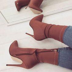 Women shoes Slip On - Women shoes Sneakers Jordans - Women shoes High Heels Classy Beautiful - Women shoes High Heels Pump Peep Toe High Heel Boots, Heeled Boots, Shoe Boots, High Heels, Women's Boots, Ankle Boots, Boots With Heels, Bootie Heels, Ankle Heels