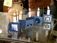 Celebrate Hanukkah With a Handmade Menorah Card : Decorating : Home & Garden Television