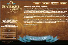 Barrel Springs wine label design by saranelsondesign.com