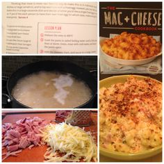 Made a dish from The Mac + Cheese Cookbook, by Oakland 's own #Homeroom restaurant. Tasty!