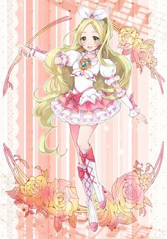 kanade from suite precure All Anime, Manga Anime, Anime Art, Anime Girls, Girls With Flowers, Glitter Force, Special Girl, Kawaii Drawings, Pretty Cure