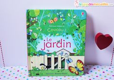Livre coucou le jardin Editions Usborne (1)