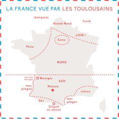 Des préjugés ? La France ? Vous n'y pensez pas ... Ou sinon ce ne sont que de curieuses notions de géographie !