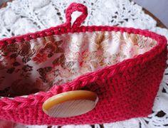 Crochet clutch for my sister-in-law