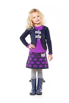 meisjesrokje+gebreid+met+ster+motief+van+TOPitmkidswear+op+DaWanda.com