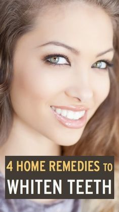 4 Ways To Whiten Your Teeth At Home - To get whiter teeth, you actually don't need to buy expensive whitening strips that can also leave your mouth sore and sensitive. Adjusting your dental routine, trying some of these DIY whitening recipes, and adjusti