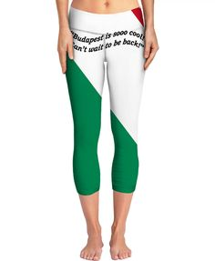 Custom Yoga Pants: Your fashionable, flamboyant Souvenir directly from Budapest proves: You travel the World, you are really not a couch potato!  Budapest, Hungary, Salami, Tokajer, fashion, travel, souvenir, holiday, gift, love, great, present, novelty, World, apparel, extra, OMG, BFF, couch potato, humor, gag, cool, Miniskirt, cover, cellphone, I-Phone, laptop, computer, mug, glas, kitchen, sexy, picture, wall, Christmas, birthday, Valentine's day, Easter, Halloween, music, Pin, Pinterest