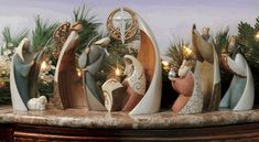 Legacy of Love by Kim Lawrence Nativity Set