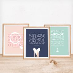 These LDS Womens Conference 2016 FREE printables are the perfect way to add inspiring and uplifting art to your home in an instant!