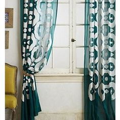 Anthropologie - Arbor Curtain - *Tunnel tab construction