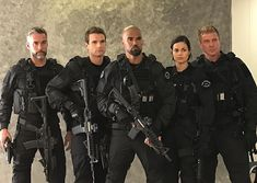 way back to that first time we geared up. Tv Series 2017, Series Movies, Lina Esco, Better Off Ted, Sherman Moore, Swat Police, Bad Boys, Firefighter, First Time